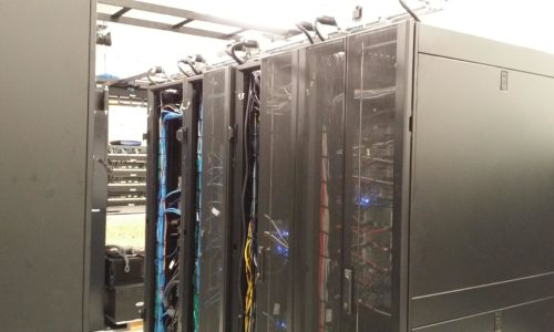 network room server rack lake forest business installed by com-tec communications